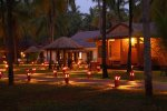 Romantische Abendstimmung im Sitaram Beach Retreat