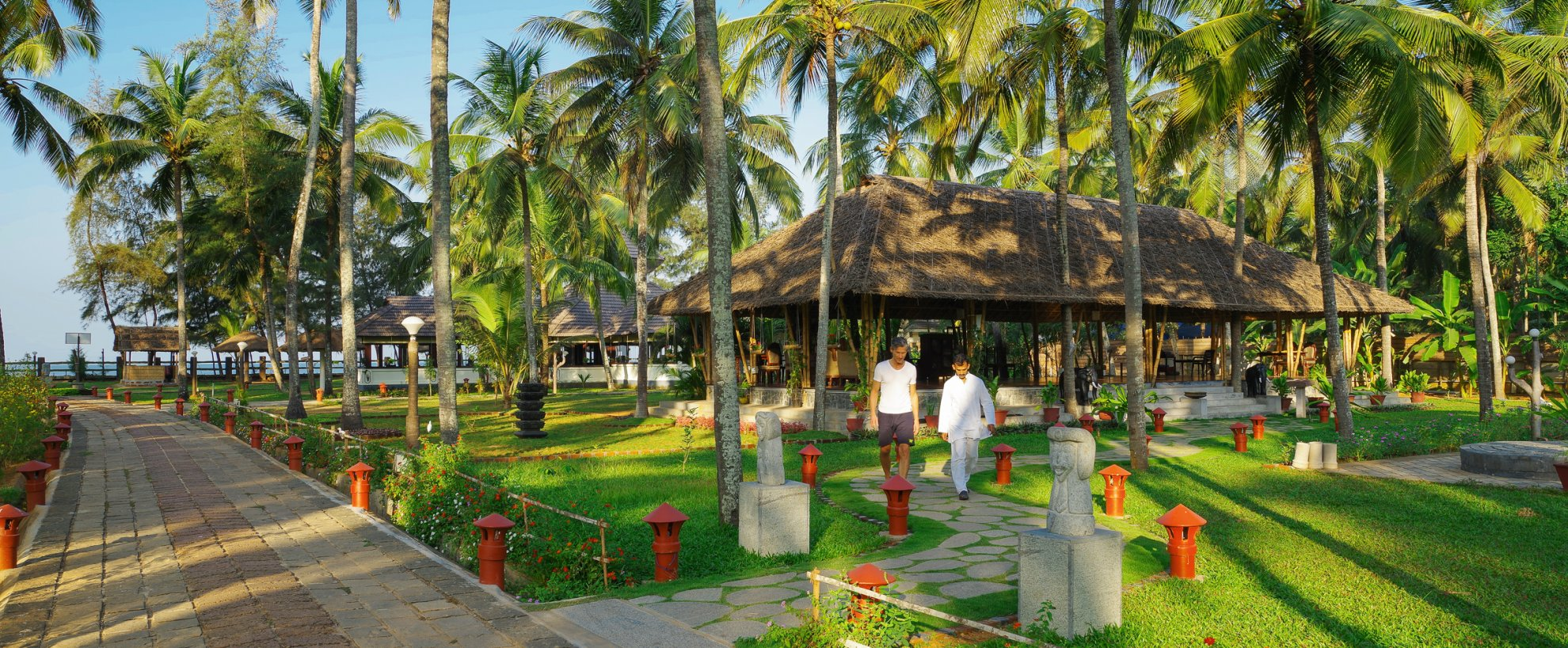 Ayurveda Indien Kerala Sitaram Beach Retreat Cottag