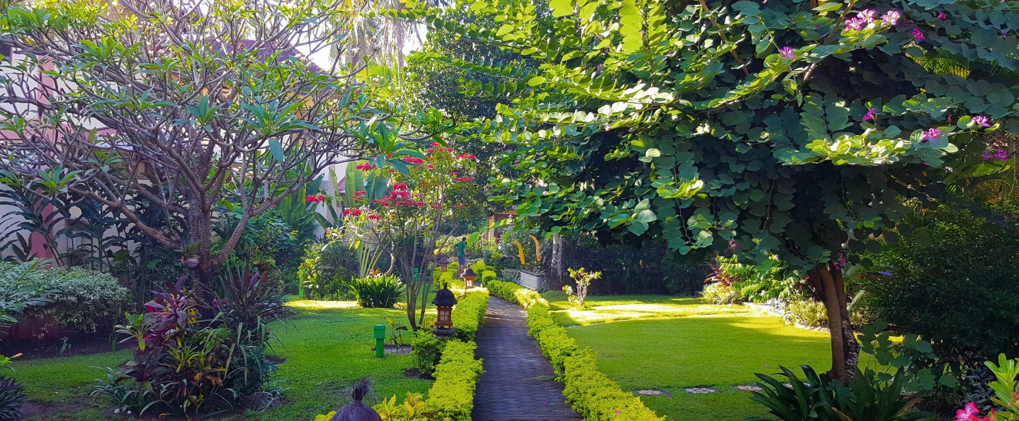 Indonesien Bali Holiway Garden Resort and Spa Garten Anlage