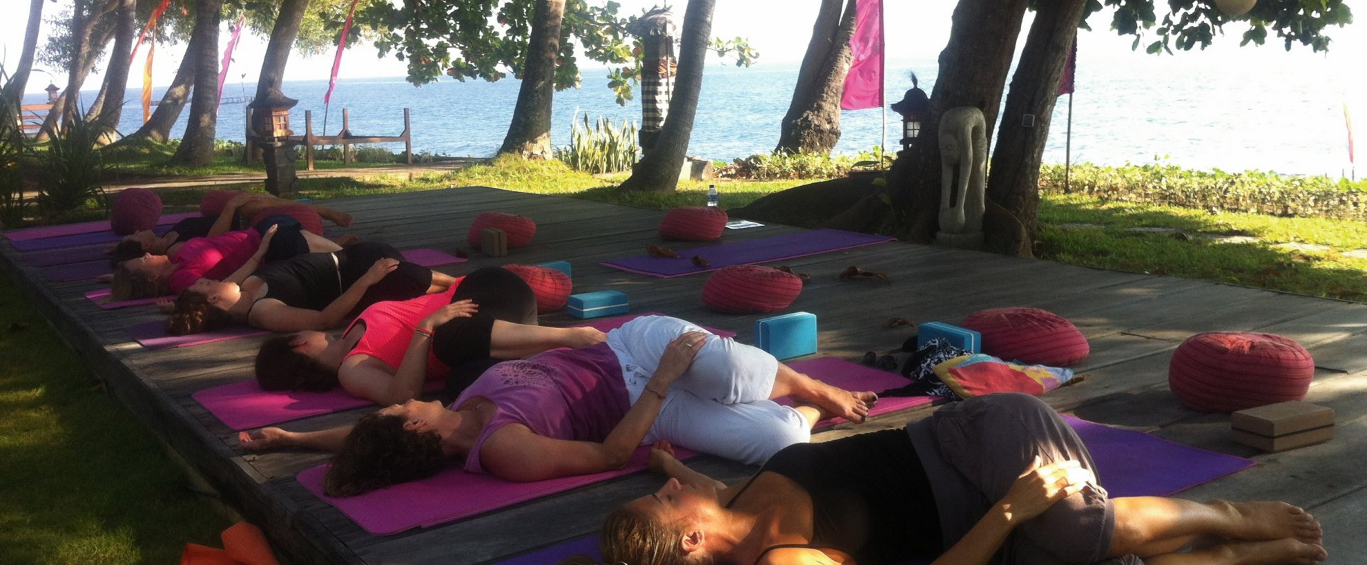 Indonesien Bali Holiway Garden Resort and Spa Yoga Meditation