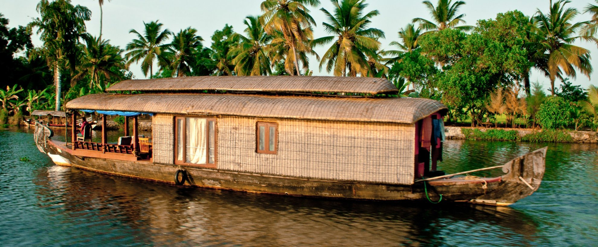Indien Kerala Backwaters Hausboot