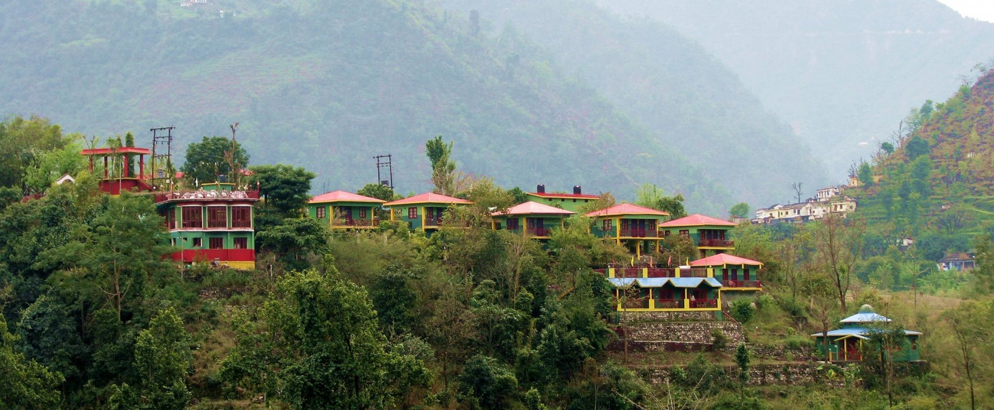 Indien Rundreise Nordindien Anandlok Resort  Rishikesh Bungalows
