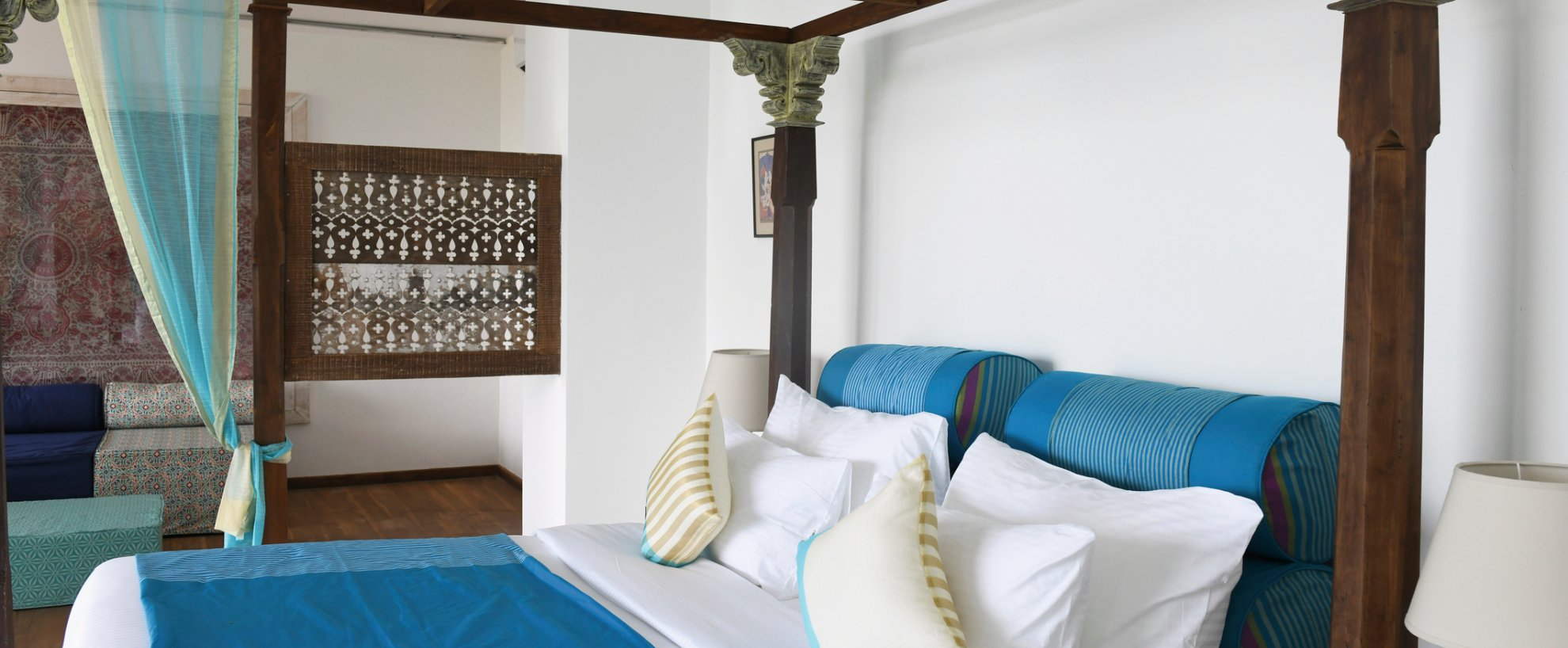 Ayurvie Weligama Retreat Suite Bett