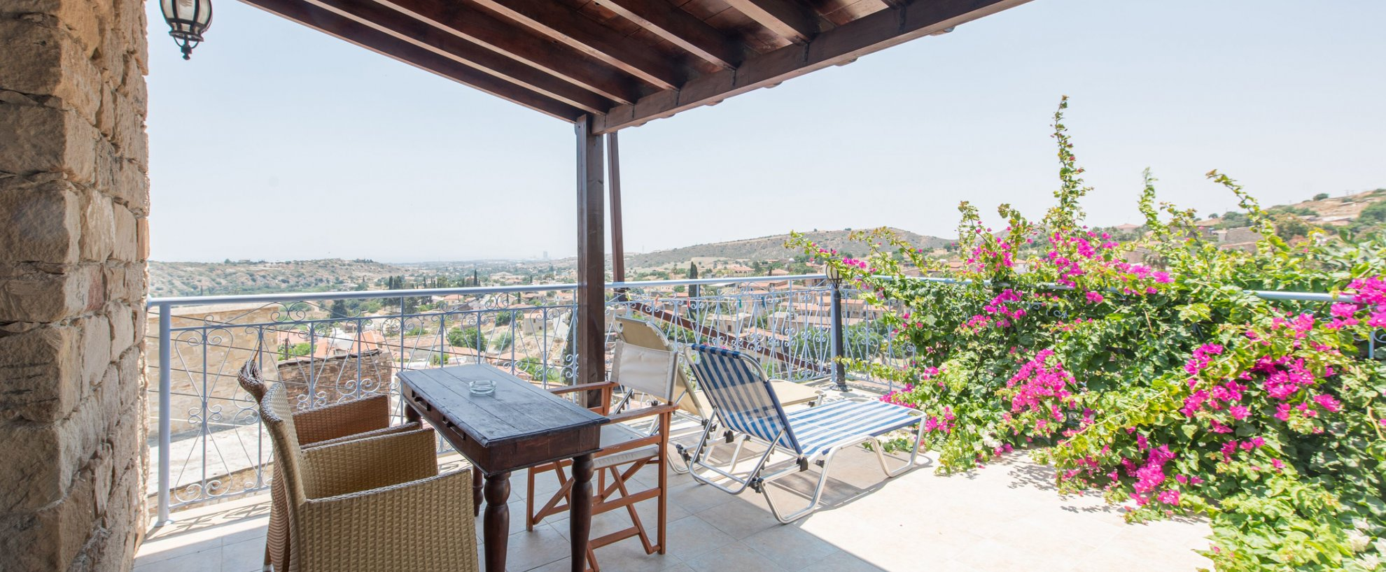 Zypern Tochni Cyprus Villages Yoga Urlaub Appartements Terrasse