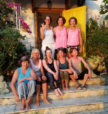 Griechenland Ilios Center Yoga Gruppe