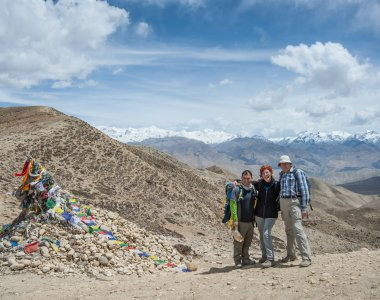 Mustang, Pass vor Lo Manthang