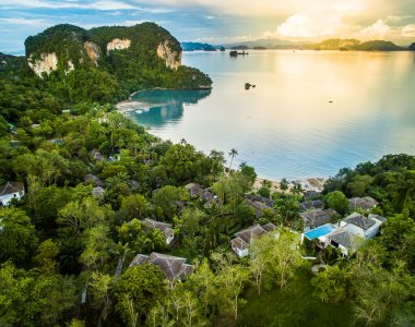 Thailand Paradise Boutique Resort und Spa Koh Yao Meer Strand