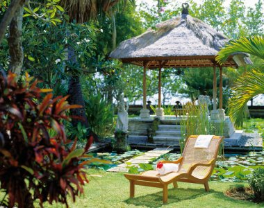 Indonesien Bali Matahari Beach Resort & Spa Garten