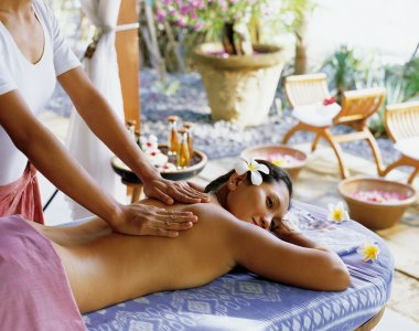Indonesien Bali Matahari Beach Resort & Spa Massage