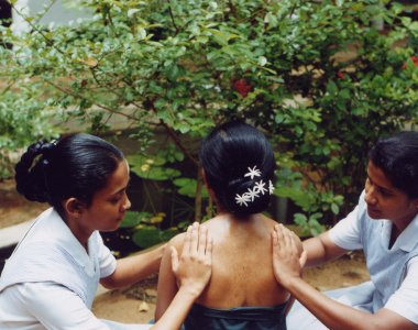 Sri Lanka Barberyn Beach Resort Synchronmassage