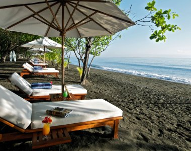 Indonesien Bali Matahari Beach Resort & Spa Strand