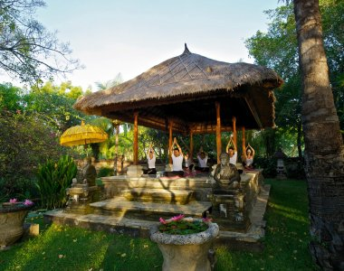 Indonesien Bali Matahari Beach Resort & Spa Yogapavillion