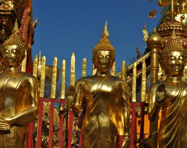 theiland Meditation Yoga Tempel Buddha Doi Suthep