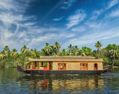 Südindien Kerala Hausboot Backwaters