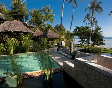 Thailand Koh Samui Wellness Spa Yoga Kamalaya Lap Pool