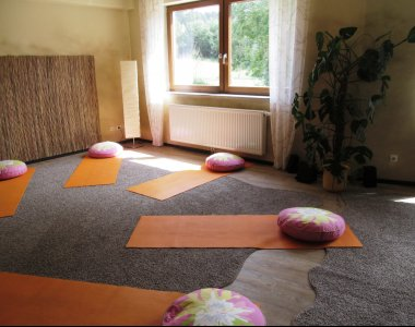 Deutschland Thürringen Vitaleum Medical Nature Hotel Yogaraum