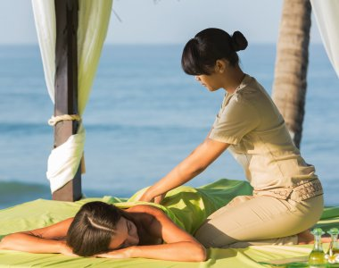 Thailand Wellness Südostasien Massage Pavillon