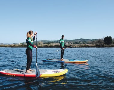 Yoga Reisen Portugal Viana Do Castelo Feel Viana Hotel Ausflüge Ausflug stand up paddle