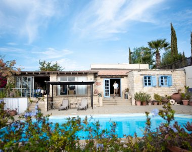 Zypern Tochni Cyprus Villages Yoga Urlaub Pool