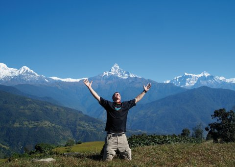 Trekkingtour in Nepal am Annapurna