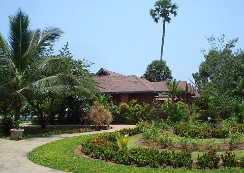 Poovar Island Resort in Kerala, Südindien