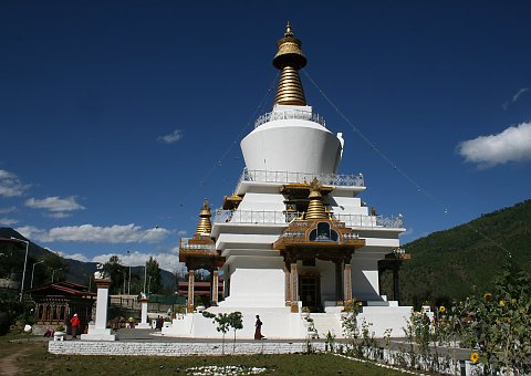 In Thimpu die Memorial Chorten