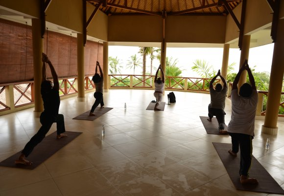 Indonesien Bali Puri Dajuma Cottages Yoga