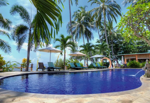 Indonesien Bali Holiway Garden Resort and Spa Pool Swimmingpool