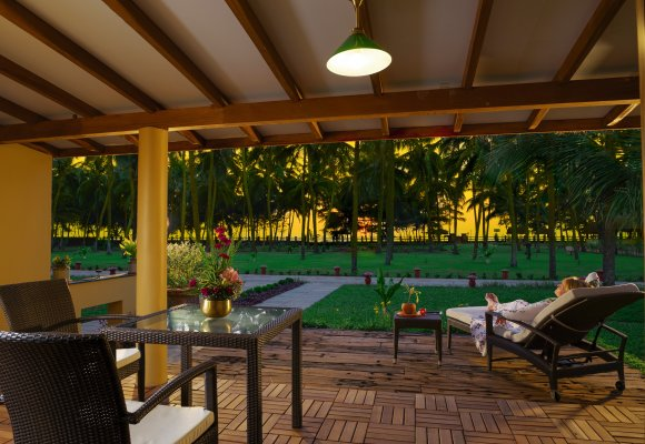 Sitaram Beach Retreat Terrasse