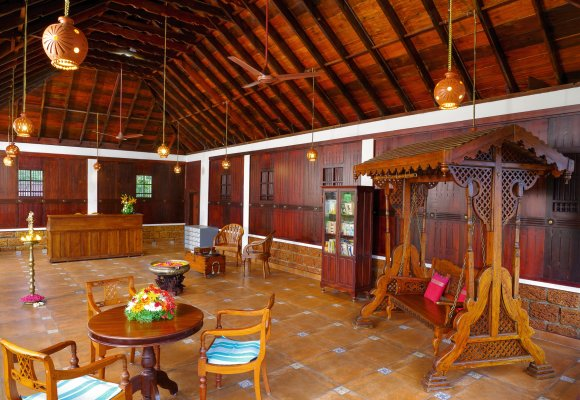 Meiveda Ayurveda Beach Resort Rezeption