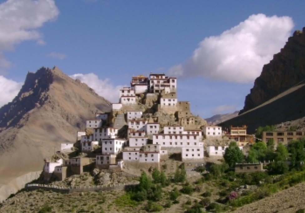 Key Gompa in Spiti - Shmabhala tibetisches Exil in Nordindien