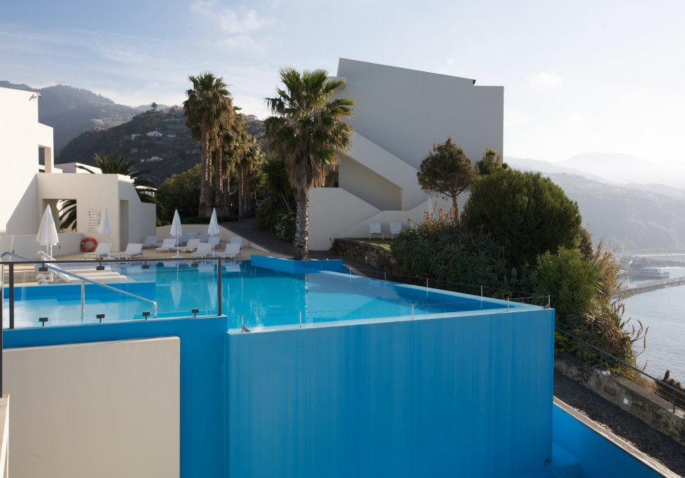Portugal Madeira Ponta do Sol Designhotel Design Hotel Estalagem Pool Swimmingpool